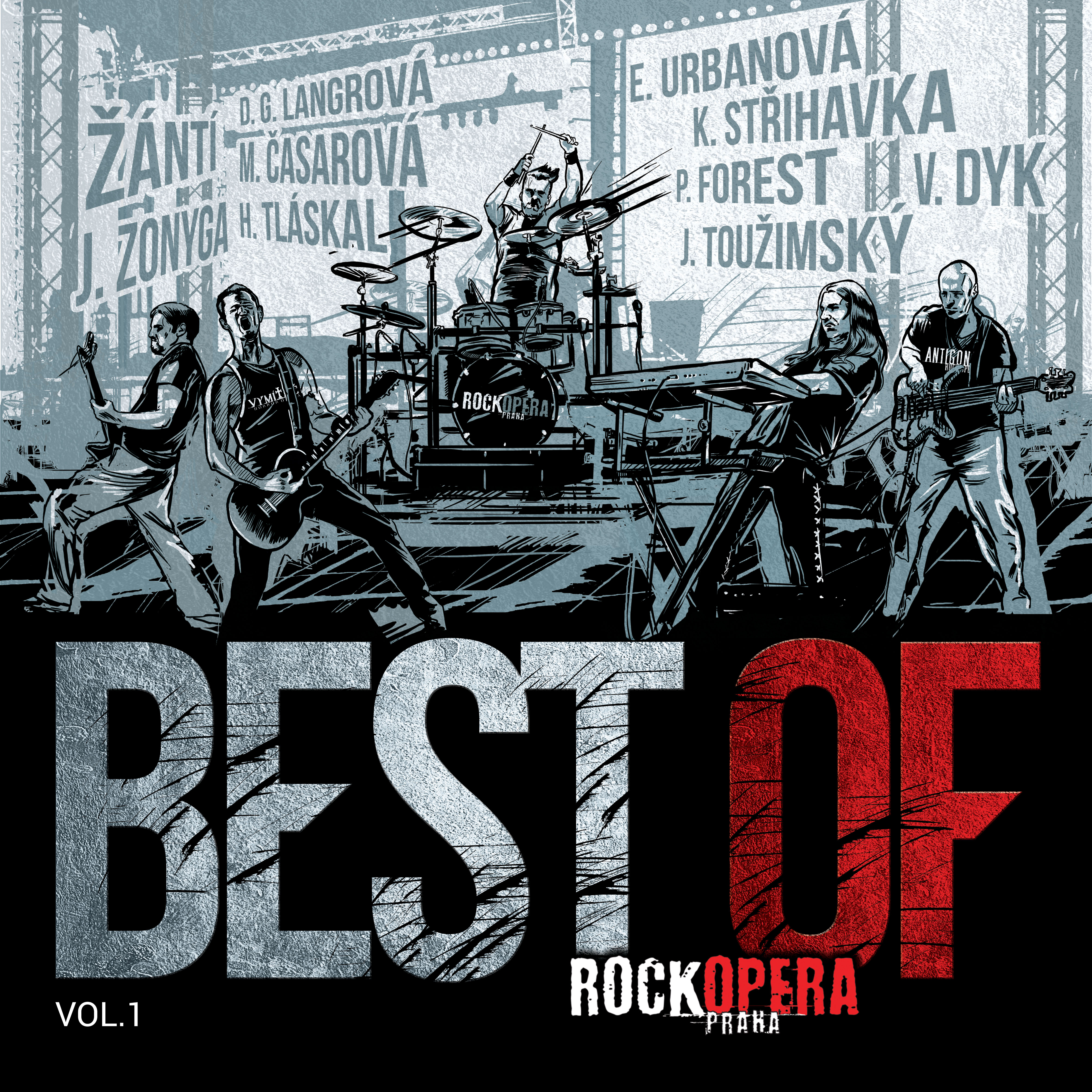 CD - výběrové album Best Of RockOpera I.